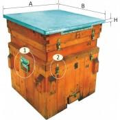 31. Feronerii pentru stupi albine (11)