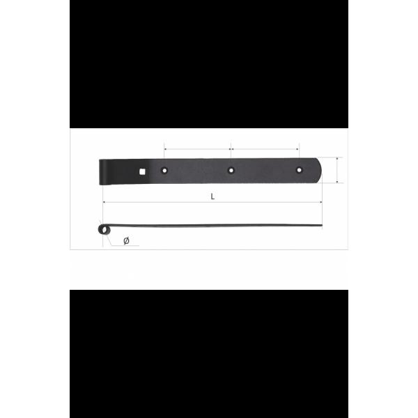5.1 Balamale pentru obloane verticale