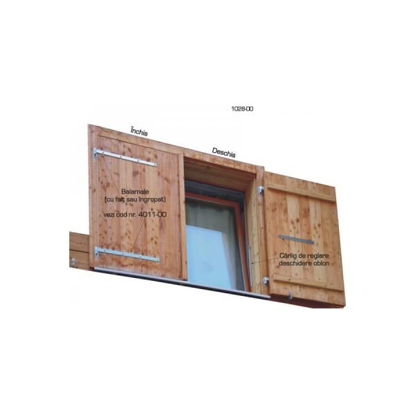 5. Balamale pentru obloane verticale